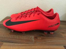 Nike Mercurial Veloce III FG Soccer Cleats Red/Black 847756-