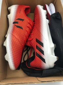 Adidas Messi 16.1 Firm Ground Soccer Cleats Red White Mens S