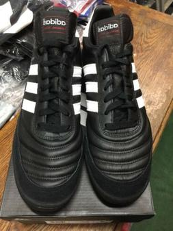 adidas Performance Mundial Team Turf Soccer Cleat,Black/Whit