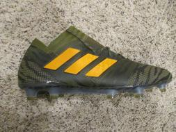 ADIDAS NEMEZIZ 17.1 FG SOCCER CLEATS MILITARY OLIVE GREEN CP