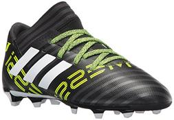 adidas Kids' Nemeziz Messi 17.3 Fg J Soccer-Shoes, BLACK/WHI