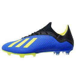 New $130 Adidas X 18.2 FG Mens Soccer Cleats - Blue / Black