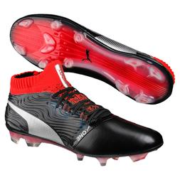 New $199 PUMA ONE 18.1 FG Leather Mens Pro Soccer Cleats - B