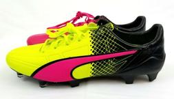 NEW! Puma evoSPEED SL II Leather TRICKS FG Soccer Cleat Men'
