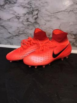 New Nike Magista Orden II FG Boys Soccer Cleats Shoes Red US