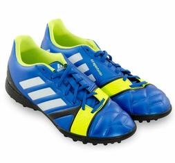 NEW MEN'S ADIDAS NITROCHARGE TURF SOCCER SHOES CLEATS ~ SIZE