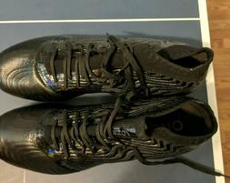 New Men's Puma ONE 18.1 FG Soccer Cleats Size 9.5 Black