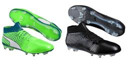 New Men's Puma ONE 18.1 FG Soccer Cleats Size 7-14 Black or
