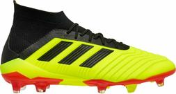 NEW MENS ADIDAS PREDATOR 18.1 FG SOCCER CLEATS DB2037-MULTIP
