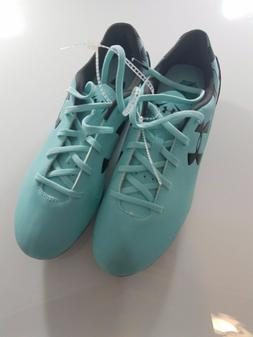 * NEW Mens Under Armour Soccer Cleats Size 7.5- Light Blue C
