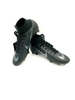 New Nike Mercurial Superfly 6 Pro FG Cleats Black AH7368 001