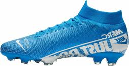 new Nike Mercurial Superfly 7 Pro Blue white FG Soccer Cleat