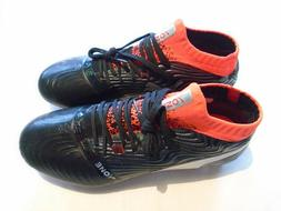 New PUMA One 18.1 FG Men's Size 7.5 Soccer Cleats Black Silv