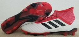 NEW Adidas Predator 18.2 FG Soccer Cleats Men's Sz:10 Red C