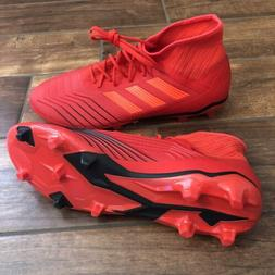 New Red - Adidas Predator 19.2 FG Men's Soccer Cleats D97940