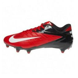 New Nike Vapor Pro Low D Football Cleats Red / Black / White