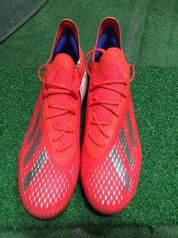 adidas New  x 18.1 Sg  Red Blue Silver Size 9 Man SOCCER CLE