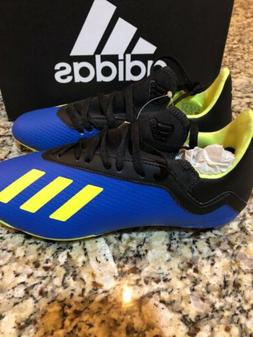 New adidas X 18.3 FG Youth Soccer Cleats Size 3Y Style DB241