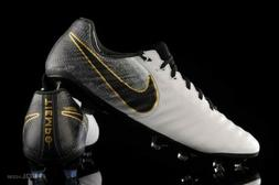 NWT Nike Tiempo Legend 7 Elite FG Soccer Cleats White Gold -