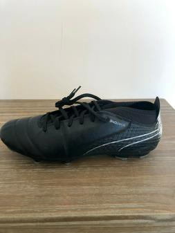 PUMA ONE 17.1 Leather MEN'S FG Soccer Cleats 104068 04 Black
