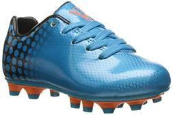 Vizari Palomar FG Soccer Cleat , Blue/Black, 2.5 M US Little
