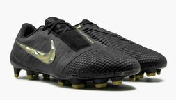 Nike Phantom Venom Elite FG Black Gold AO7540-077 Soccer Cle