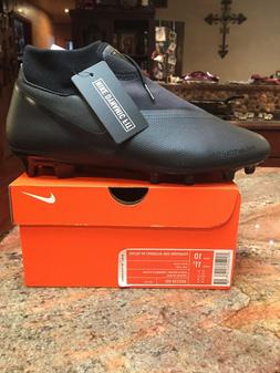 Nike Phantom VSN Academy DF FG/MG Black Soccer Cleats AO3258