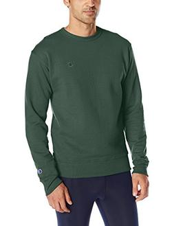 Champion Men's Powerblend Sweats Pullover Crew Dark Green L
