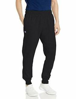 Champion Men's Powerblend Sweats Retro Jogger Pants Black XX