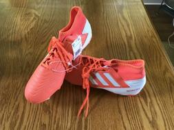 Adidas Predator 19.3 FG Soccer Cleats Coral Pink: Orange Uni