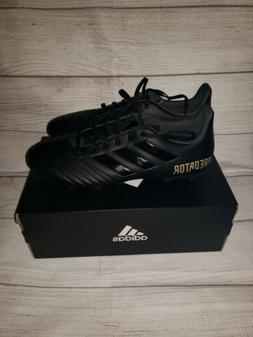 Adidas Predator 19.4 FxG F35600 Black  Soccer Cleats Shoes s
