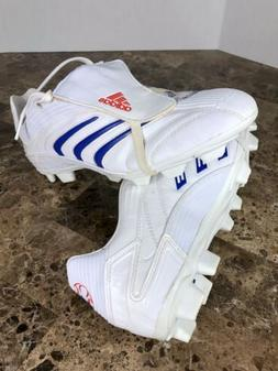 Adidas Predator Traxion Women's Soccer Cleats Size 9 White &