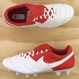 Nike Premier II FG Kanagroo Leather Red White Soccer Cleats