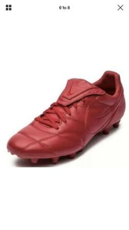 Nike Premier II FG Leather Soccer Cleats Gym Red 917803-600