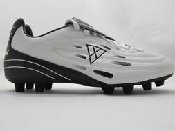 Vizari PRIMO Soccer Cleats Men's White/Black 10.5 US Athleti