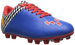 Vizari Prix Soccer Cleat , Blue/Red, 1.5 M US Little Kid