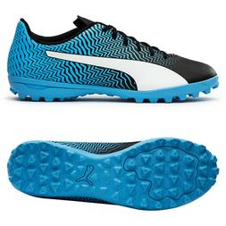 Puma Rapido II TT Football Shoes Soccer Cleats Boots Blue 10