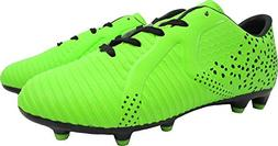 Vizari Unisex Rialto JR FG Soccer Shoe Green/Black 2 Regular