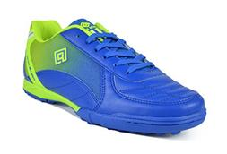 DREAM PAIRS Men's 160470-M Royal L.Green Athletic Soccer Sho
