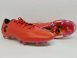 UNDER ARMOUR size 9.5  Magnetico Pro FG Soccer Cleats Red 30
