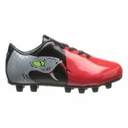 Vizari Snake Youth Soccer Cleats - Black, Red