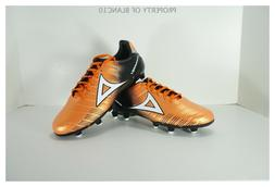 Pirma Soccer Cleats-Style 179-Orange/Black-Supreme Mamba