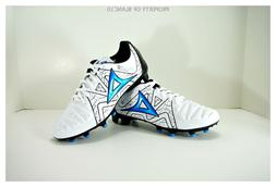 Pirma Soccer Cleats-Style 188-White/Blue-Gladiador Azteca