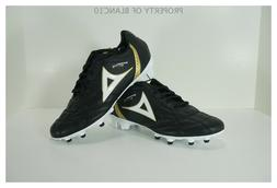 Pirma Soccer Cleats-Style 190-Black/Gold-Brasil Elite