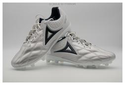 Pirma Soccer Cleats-Style 3015-White/Silver-Brasil Fortitude