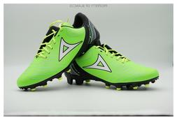soccer cleats style 3019 black neon green