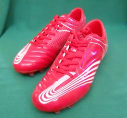 VIZARI SORRENTO M MENS RED AND WHITE SOCCER SHOES/CLEATS SIZ