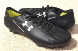 Under Armour Speedform Leather FG Soccer Cleats Black 127640