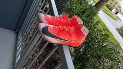 Nike Superfly 6 Pro CR7 FG Soccer Cleats Bright Crimson AJ35