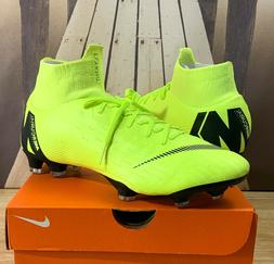 Nike Superfly 6 Pro FG Soccer Cleats Volt / Black AH7368-701